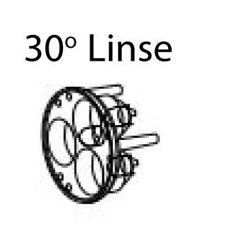 Linse 30° für ILLI und PIK LED Maschinenleuchten