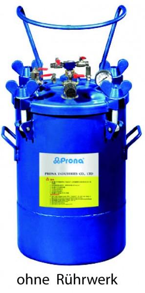 Drucklufttank ohne Rührwerk 10 Liter Aluminium