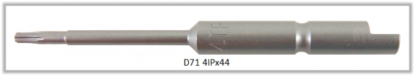 Vessel Industriebit für Torx-Plus-Schrauben HALF MOON BIT Ø4mm IP 4 X Ø1.8 X 20 X 44 (mm)