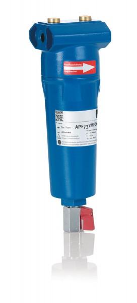 KSI ECOCLEAN® Vakuumpumpenabluftfilter mit Kugelhahn 1/2 Zoll