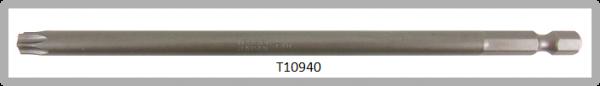 """Vessel Industriebit für Torx-Schrauben POWER BIT 1/4"""" HEX E6.3  TX 40 X Ø7.0 X 152 (mm)"""