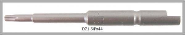 Vessel Industriebit für Torx-Plus-Schrauben HALF MOON BIT Ø4mm IP 6 X Ø2.5 X 20 X 44 (mm)