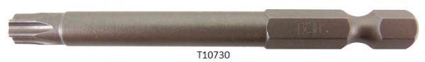 """Vessel Industriebit für Torx-Schrauben POWER BIT 1/4"""" HEX E6.3  TX 30 X Ø6.35 X 70 (mm)"""