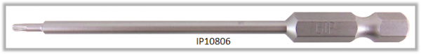 """Vessel Industriebit für Torx-Plus-Schrauben POWER BIT 1/4"""" HEX E6.3 IP 6 X Ø3.18 X 90 (mm)"""