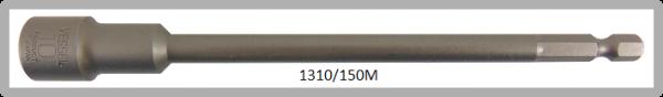 """10 Stück  Vessel magnetische HEX Steckschlüssel POWER BIT 1/4"""" HEX E6.3  A/F 10.0 X Ø16.0 X 150 (mm)"""