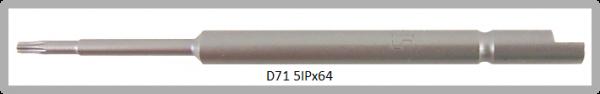 Vessel Industriebit für Torx-Plus-Schrauben HALF MOON BIT Ø4mm IP 5 X Ø2.0 X 20 X 64 (mm)