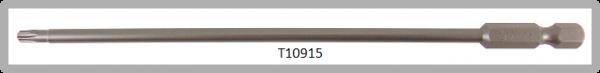 """Vessel Industriebit für Torx-Schrauben POWER BIT 1/4"""" HEX E6.3  TX 15 X Ø3.96 X 152 (mm)"""