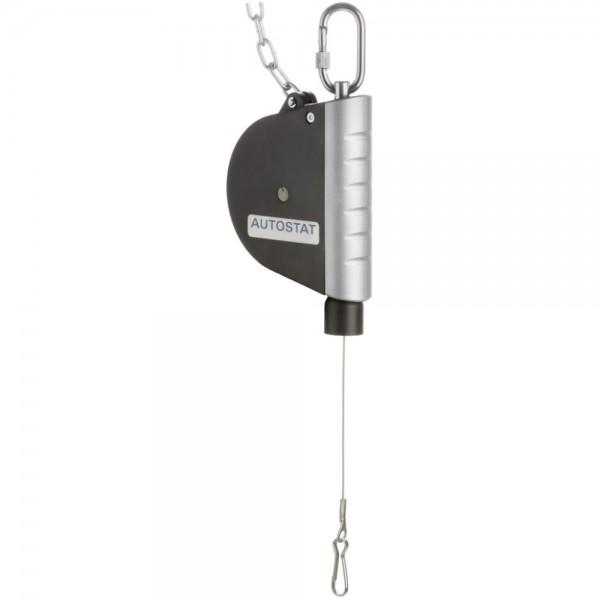 Federzug mit Tragfähigkeit 0,0 - 2,5 kg, Seilauszug 1.600 mm
