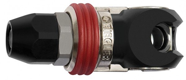 Swing safety coupling I.D. 8, ISO 6150 C, Steel, Hose 8x12 - 11x16