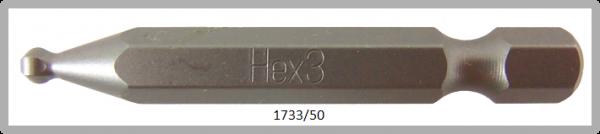 """10 Stück Vessel Industriebit Hexagonal-Schrauben POWER BIT 1/4"""" HEX E6.3  BP HEX 3.0 X Ø4.0 X 50(mm)"""