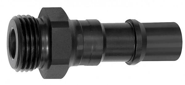 Nippel für Kupplungen NW 11, ISO 6150 C, Stahl, G 3/8 - 3/4, AG/IG