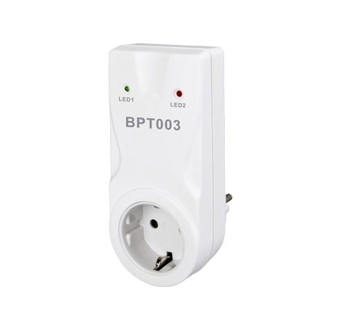 Funk-Empfänger Steckdose für Raumthermostate BPT010 oder BPT710