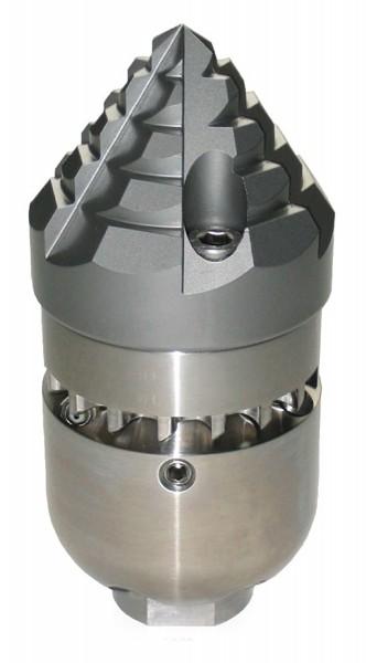 """Rohr-Wolf-Turbinenfräse, 1/2"""" aus VA-Stahl"""