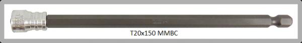 """Vessel Industriebit für Torx-Schrauben POWER BIT - MAGNETIC RING 1/4"""" HEX E6.3 TX 20 X 150 (mm)"""