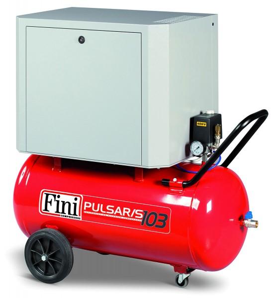 Fini Kompressor schallgedämmt SILENT PULSAR riemengetrieben 22 kW