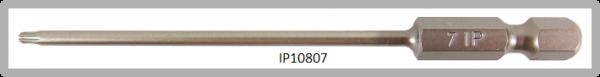 """Vessel Industriebit für Torx-Plus-Schrauben POWER BIT 1/4"""" HEX E6.3  IP 7 X Ø3.18 X 90 (mm)"""