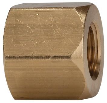 Bushing, exterior hexagonal, reducing, G 1/2 - 3/4 i., M14x1.5 - 16x1.5i. Brass