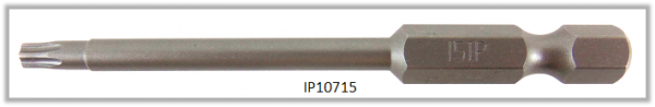"Vessel Industriebit für Torx-Plus-Schrauben POWER BIT 1/4"" HEX E6.3  IP 15 X Ø3.96 X 70(mm)"