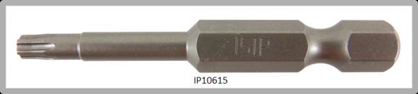 """Vessel Industriebit für Torx-Plus-Schrauben POWER BIT 1/4"""" HEX E6.3  IP 15 X Ø3.96 X 49(mm)"""