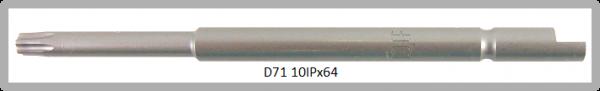 Vessel Industriebit für Torx-Plus-Schrauben HALF MOON BIT Ø4mm IP 10 X Ø3.0 X 20 X 64 (mm)