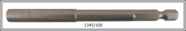 """10 Stück  Vessel HEX Steckschlüssel POWER BIT 1/4"""" HEX E6.3  A/F 4.5 X Ø8.0 X 100 (mm)"""