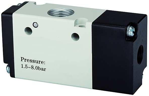 3/2-way valve, Pneumatic, »3A«, monostable, NC, M5 - G 1/8 - 3/8