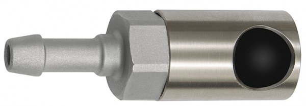 Pushbutton safety coupling I.D. 6, ISO 6150 C, Sleeve I.D. 6 - 13