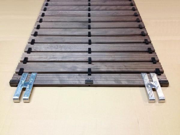 Sicherheits-Holzlaufrost - 3 reihige Nitril Gummifußauflage