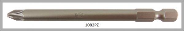 """Vessel Industriebit für Pozidriv-Schrauben POWER BIT 1/4"""" HEX E6.3  PZ 2 X Ø6.35 X 89 (mm)"""