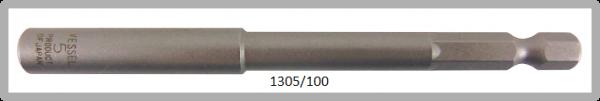 """10 Stück  Vessel HEX Steckschlüssel POWER BIT 1/4"""" HEX E6.3  A/F 5.0 X Ø8.5 X 100 (mm)"""