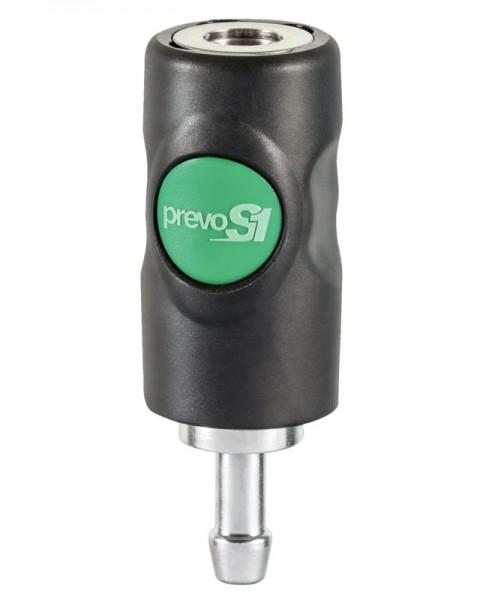 Edelstahl Sicherheitskupplung für Schlauchanschluss Prevost ESI 071810HE 7,4 mm