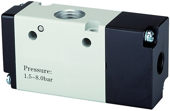 3/2-way valve, Pneumatic, »3A«, monostable, NO, M5 - G 1/8 - 3/8