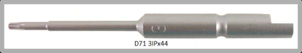 Vessel Industriebit für Torx-Plus-Schrauben HALF MOON BIT Ø4mm IP 3 X Ø1.7 X 20 X 44 (mm)