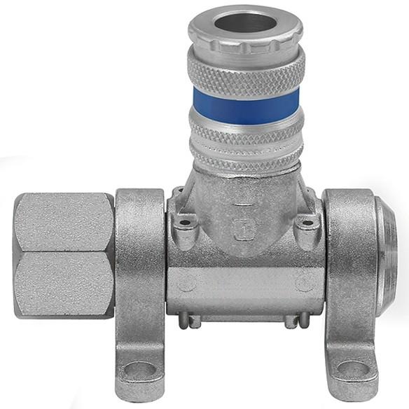 Druckluftverteiler »Multi-Link«, 1 - 3 Standardkupplungen, NW 7,6