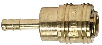 Quick-connect coupling I.D. 7.2 »connect line«, Sleeve I.D. 6 - 13