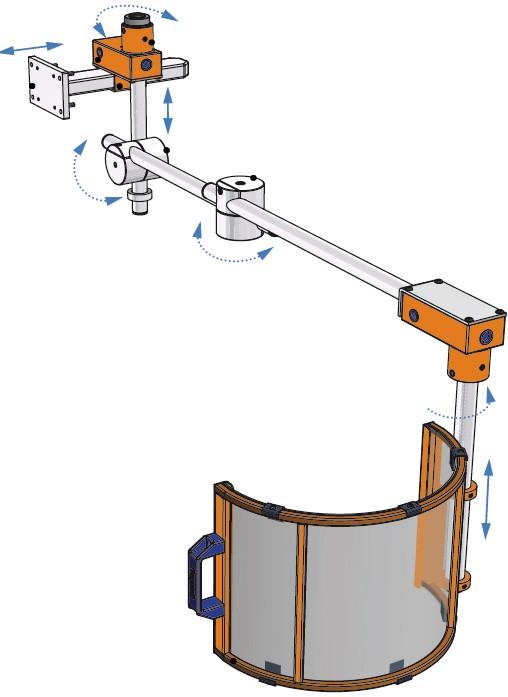 Milling Machines Accident Prevention Device FA Long Arm Preview MOWOTAS