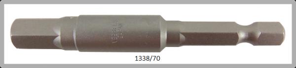 """10 Stück Vessel Industriebit Hexagonal-Schrauben POWER BIT 1/4"""" HEX E6.3  HEX 8.0 X Ø11.0 X 70 (mm)"""