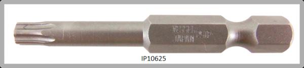 """Vessel Industriebit für Torx-Plus-Schrauben POWER BIT 1/4"""" HEX E6.3  IP 25 X Ø4.75 X 49(mm)"""