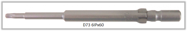 Vessel Industriebit für Torx-Plus-Schrauben WING SHANK BIT Ø4mm 6IP X Ø2.5 X 20 X 60 (mm)