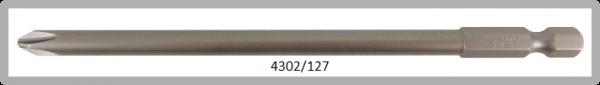 """Vessel Industriebit für Phillips-Schrauben POWER BIT 1/4"""" HEX E6.3 PH 2 X Ø6.0 X 127 (mm)"""