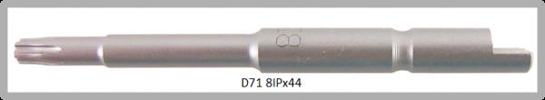 Vessel Industriebit für Torx-Plus-Schrauben HALF MOON BIT Ø4mm IP 8 X Ø3.0 X 20 X 44 (mm)