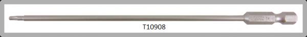 """Vessel Industriebit für Torx-Schrauben POWER BIT 1/4"""" HEX E6.3  TX 8 X Ø3.18 X 152 (mm)"""