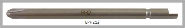 Vessel Industriebit für Phillips-Schrauben HALF MOON BIT Ø4mm PH 2 X Ø4.0 X 64 (mm)