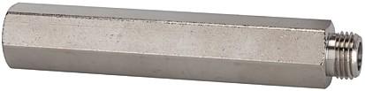 Verlängerungsstück, lang, G 1/4 a., G 1/4 i., SW17, MS v., L= 35 - 100 mm