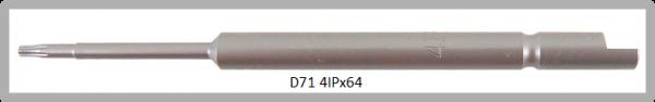 Vessel Industriebit für Torx-Plus-Schrauben HALF MOON BIT Ø4mm IP 4 X Ø1.8 X 20 X 64 (mm)