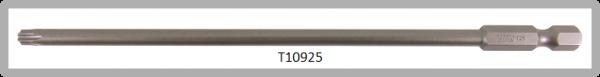 """Vessel Industriebit für Torx-Schrauben POWER BIT 1/4"""" HEX E6.3  TX 25 X Ø4.75 X 152 (mm)"""