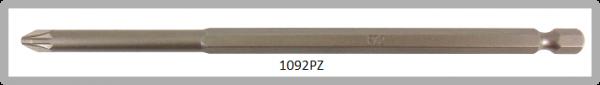 """Vessel Industriebit für Pozidriv-Schrauben POWER BIT 1/4"""" HEX E6.3  PZ 2 X Ø6.35 X 152 (mm)"""