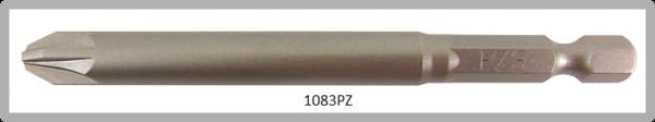 """Vessel Industriebit für Pozidriv-Schrauben POWER BIT 1/4"""" HEX E6.3  PZ 3 X Ø8.0 X 89 (mm)"""