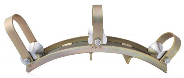 Deflection roller device for DN 13/19