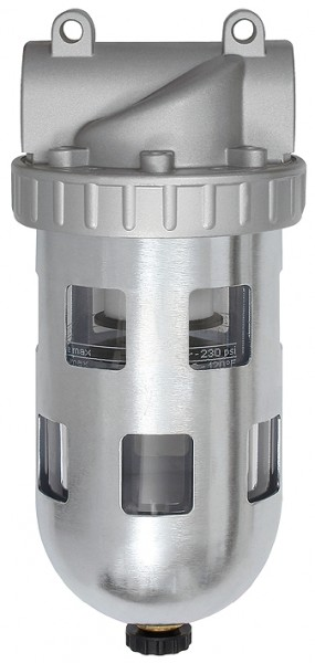Filter »Standard«, PC container, Protective cage, Size 3, G 1/2